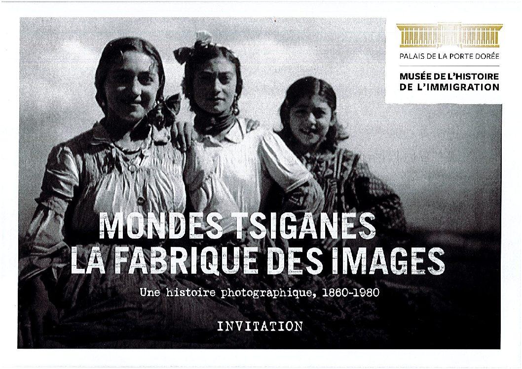 Exposition «Mondes tsiganes : la fabrique des images» au Musée de l'histoire de l'immigration