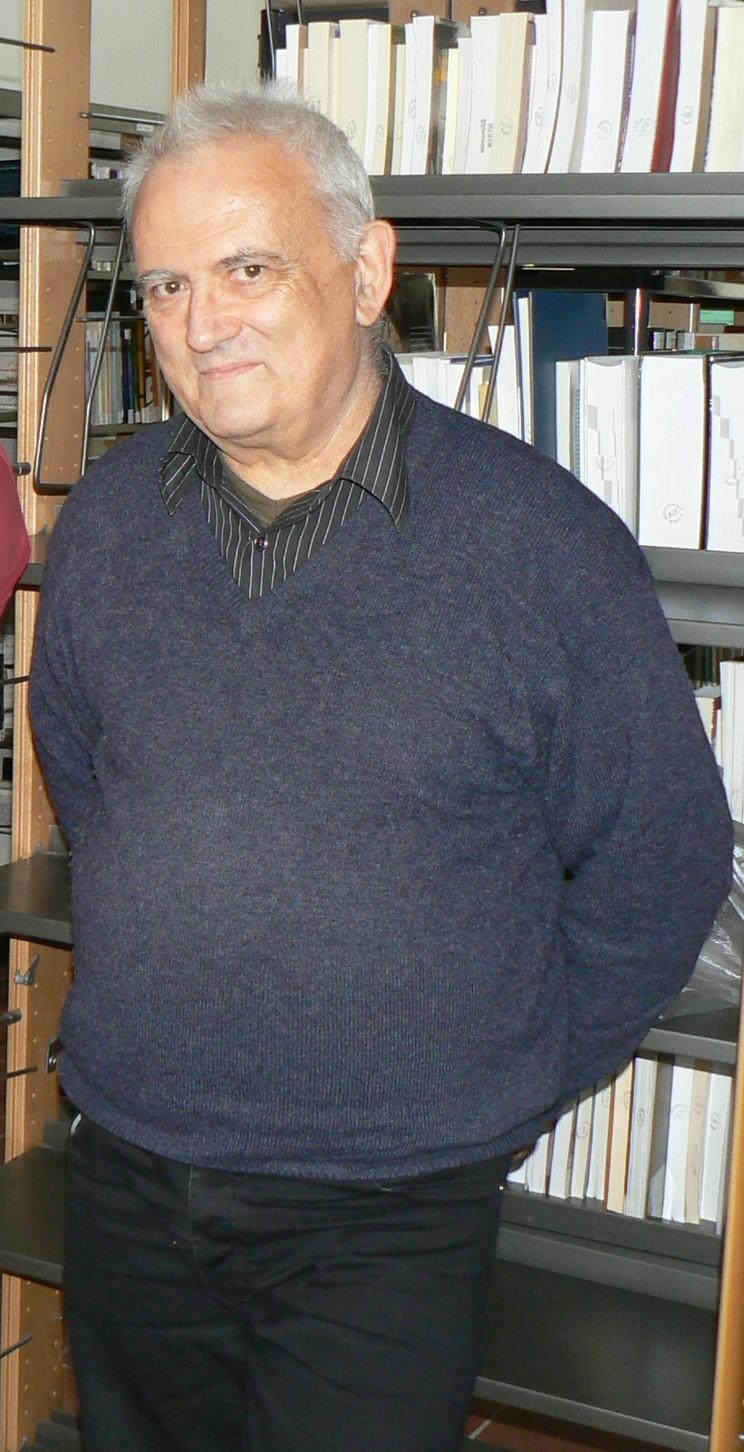 Jacques Tourrel à la médiathèque de la MMSH