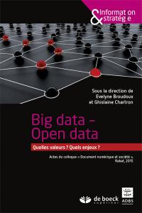 Big data, open data