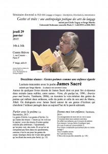 Compte-rendu du séminaire doctoral ED 208 animé par Cécile Leguy et Serge Martin