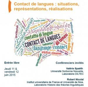 Matinée en contact(s): XVIIIe rencontres Jeunes Chercheurs en Sciences du Langage