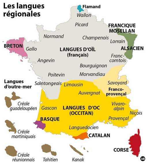 """Résultat de recherche d'images pour """"langues régionales france carte"""""""
