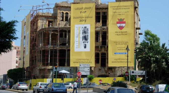 Musée d'Histoire de la ville de Beyrouth (chantier, 2010). Cliché F.Siino