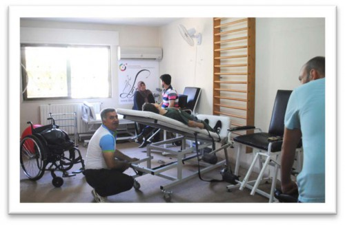 Syrian Rehabilitation Center, Irbid, 08/2014