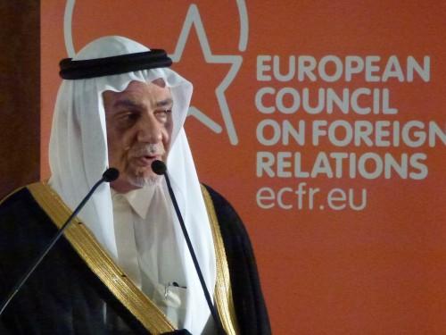 Le Prince Turki al Faisal, l'un des artisans de l'extrême pragmatisme de la stratégie saoudienne