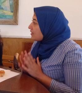 Sayida Ounissi, députée (circonscription de Paris) du parti Ennahda