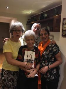 Madiha Doss et les éditrices de l'ouvrage © Aziza Boucherit & Catherine Miller
