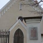 St. Bartholomäus, warscheinlich die Taufkirche von Eck (stark umgebaut 1873)
