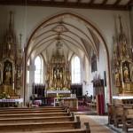 Innenraum von St. Bartholomäus, Getaltung 19. Jahrhundert
