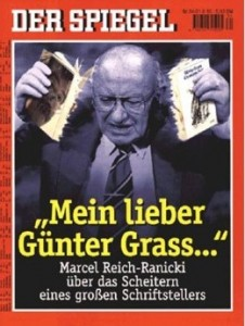 Nicht immer gerecht, aber immer unterhaltsam, polemisch und mit guten Quoten: Marcel Reich-Ranicki (Bild: SPIEGEL 24/1995).