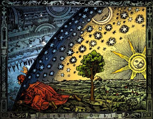 Mehr Atheismus in der Religionsgeschichte? Flammarion: L'atmosphère, météorologie populaire, 1888 (Quelle: wikimedia commons, Hugo Heikenwaelder).