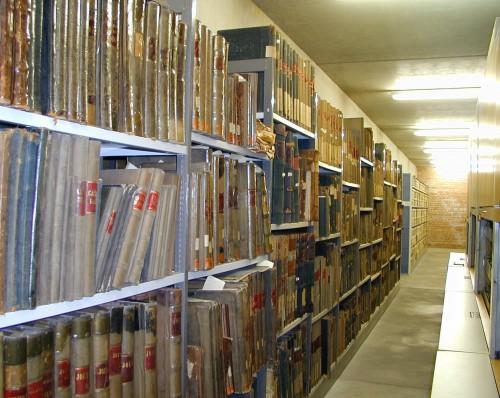 Der Ort der Kulturerlebnisse von Historikern: Archive (
