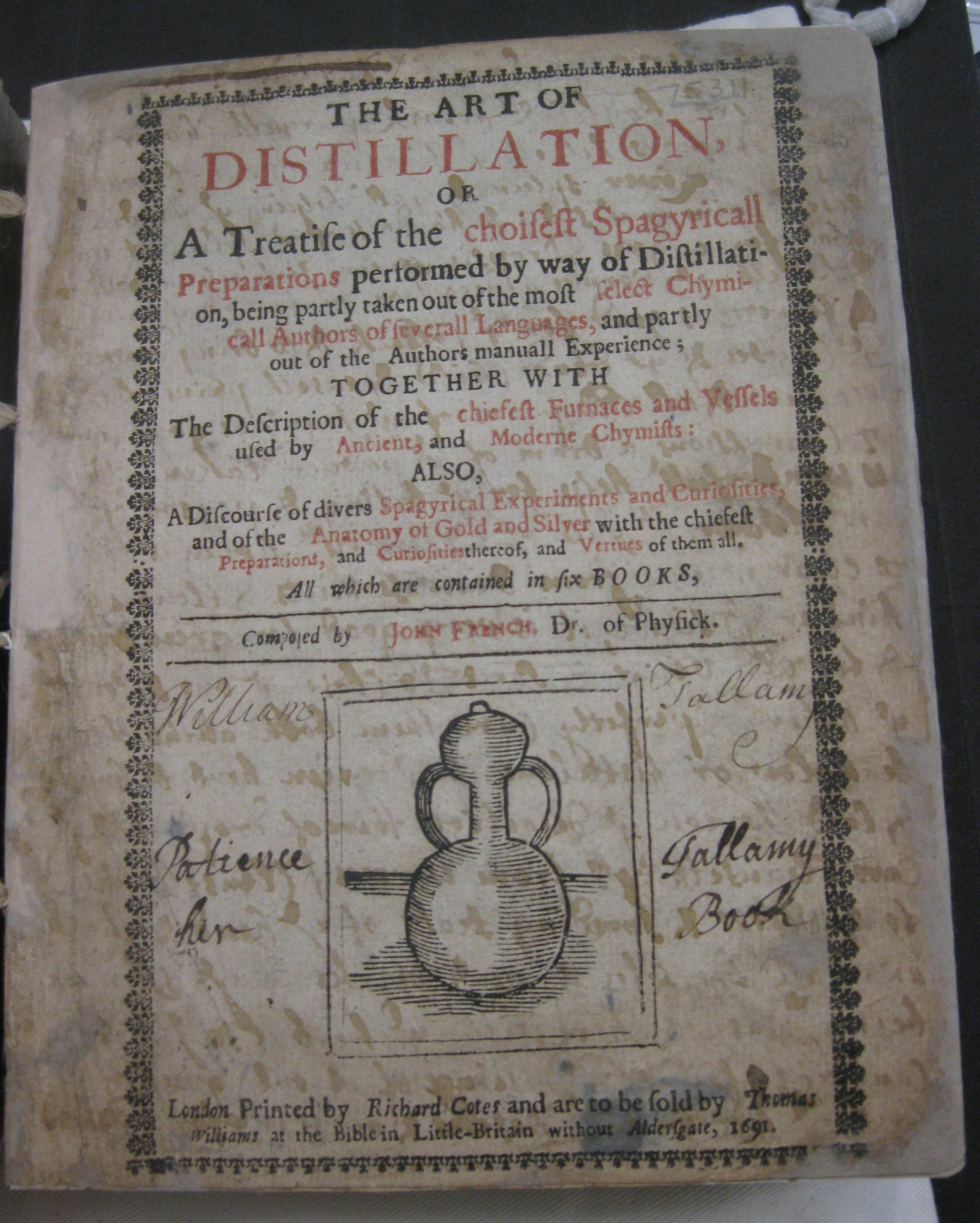 the art of distillation alchemy in eighteenth century recipe the art of distillation