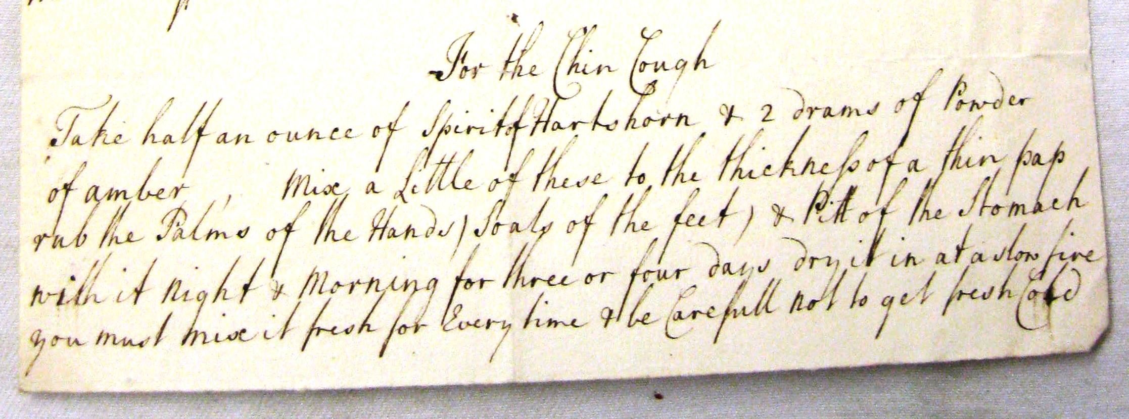 Herefordshire County Record Office, J 38/8210 S. Phillips to Mrs Witherstone January 6, 1756