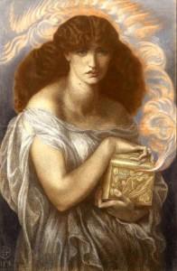 Pandora, Dante Gabriel Rosetti, 1878