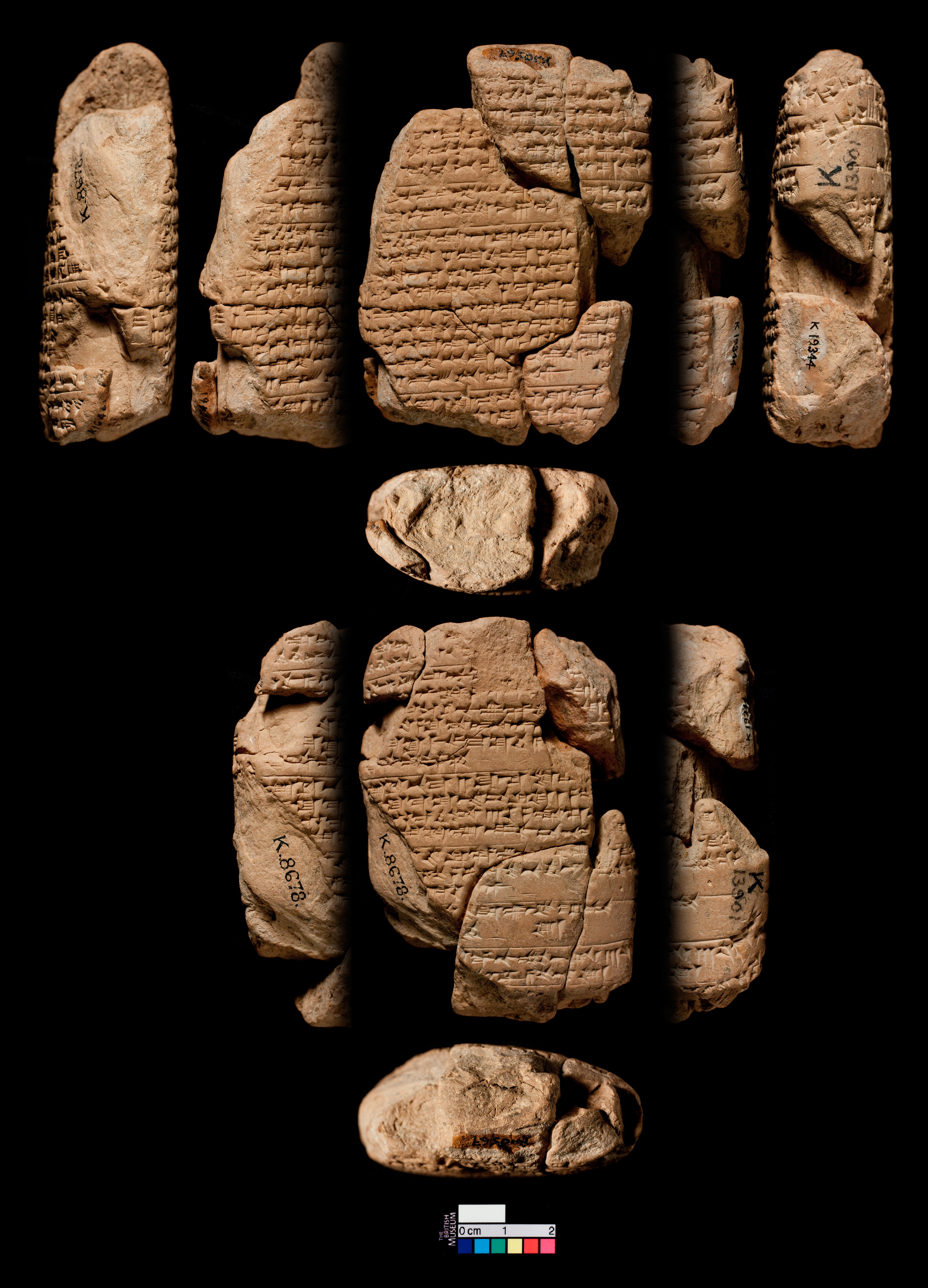 A Babylonian tablet with medical prescriptions for women, ca. 7th cent. BCE. Source: Cuneiform Digital Library Initiative (http://cdli.ucla.edu/dl/ photo/P238756.jpg)