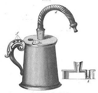 Woodcut of John Mudge's Inhaler [Credit: Hardluckasthma]