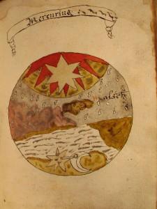 alchemical manuscript