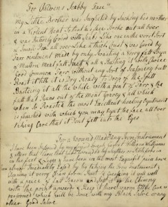 Elizabeth Coates Paschall's MS receipt book, 10a 352.