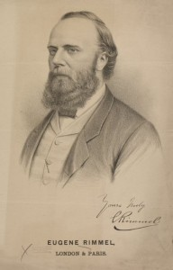 Eugène Rimmel. Image courtesy of NYPL Digital Collections, digital ID 2006250, and Wikicommons.