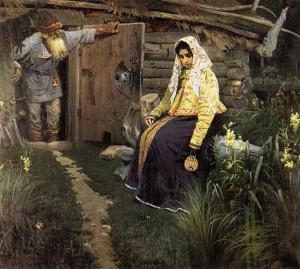 'For a Love Potion' M. V. Nesterov (1888) (www.artcontext.info)