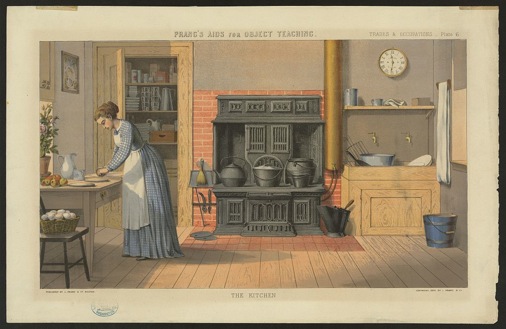 Old fashioned recipes new fashioned kitchens technology for 19th century kitchen cabinets