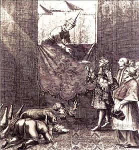 Narai receiving the French Embassy, 1685. Wikimedia Commons