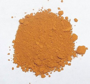 Pure gold precipitate produced by the aqua regia chemical refining process