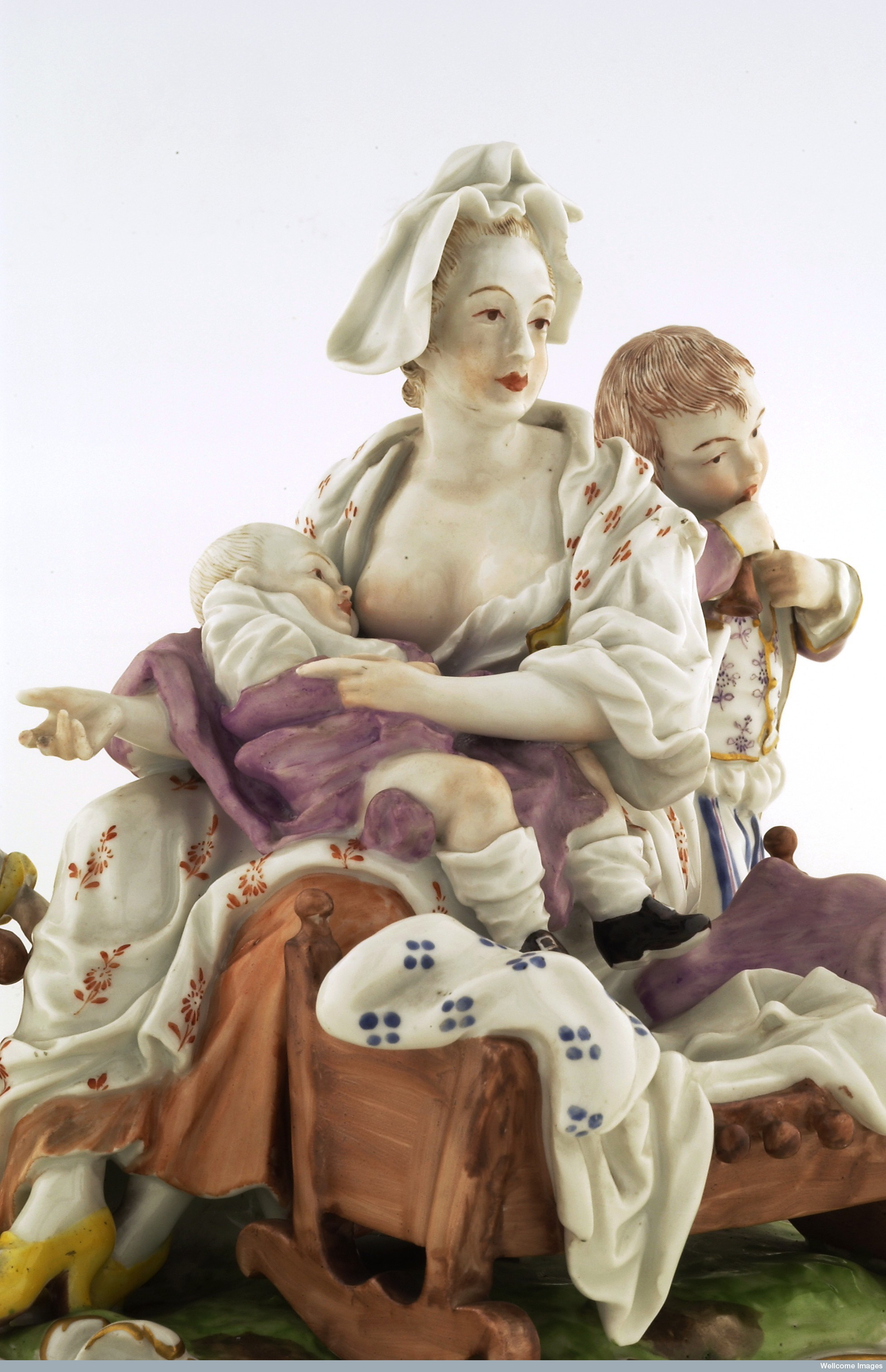 look d like milk breastmilk substitutes in new england s porcelain figure of a w breastfeeding 18th century image credit wellcome library