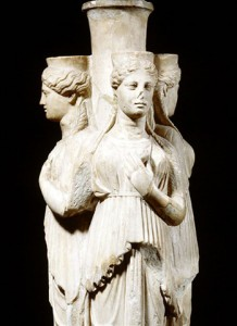 Hecate, AKA 'Trivia,' who was often worshipped at three-way crossroads