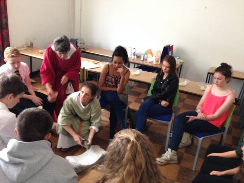 Bread Workshop.  Technologies of Daily Life: Schools Day.  Image courtesy of Evelien Bracke.