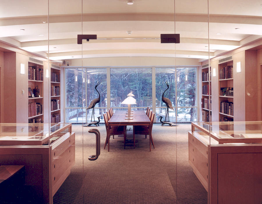 A View Of The George J Mitchell Department Special Collections Archives Bowdoin