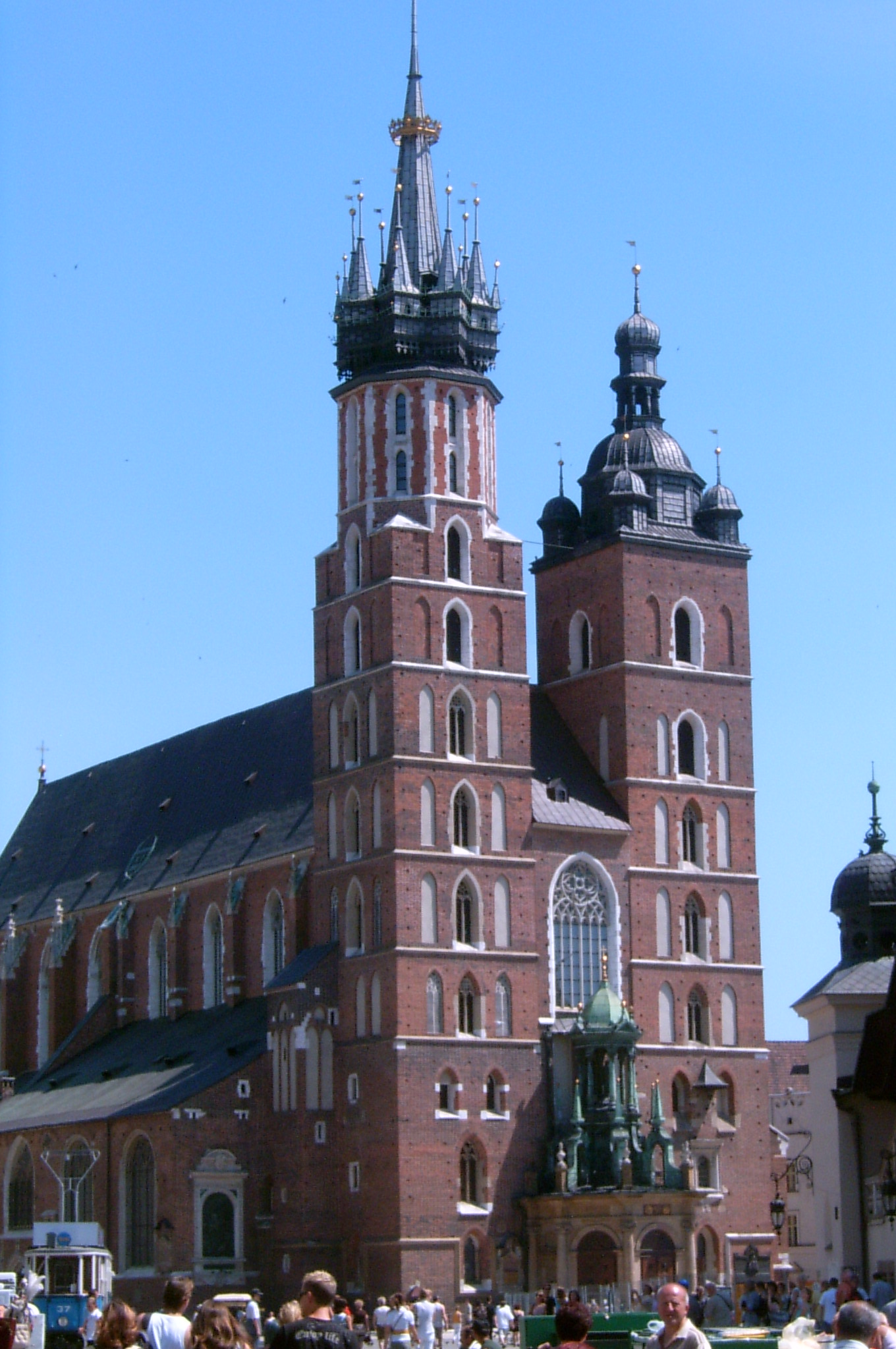 St Mary Basilica, Cracow From Wiki Commons