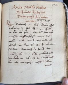 Maciej of Miechów, how to turn catnip into gold. Leiden University Library, Vossiani Chymici Q29, f.327r. by Agnieszka Rec