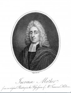 Portrait of Increase Mather. Image Credit: Wellcome Library, London.