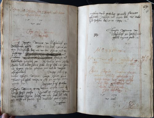 Image 3: Copy of Joachim Wimmer's confirmation and signature. Leiden University Library, Vossiani Chymici F19, ff.77v-78r.