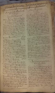 University Library Leiden, MS BPL 3603, p. 77, the first page of section 2.