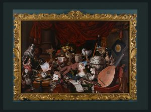 The Paston Treasure, anonymous, Dutch School, c1665, oil on canvas, Norfolk Museums Service