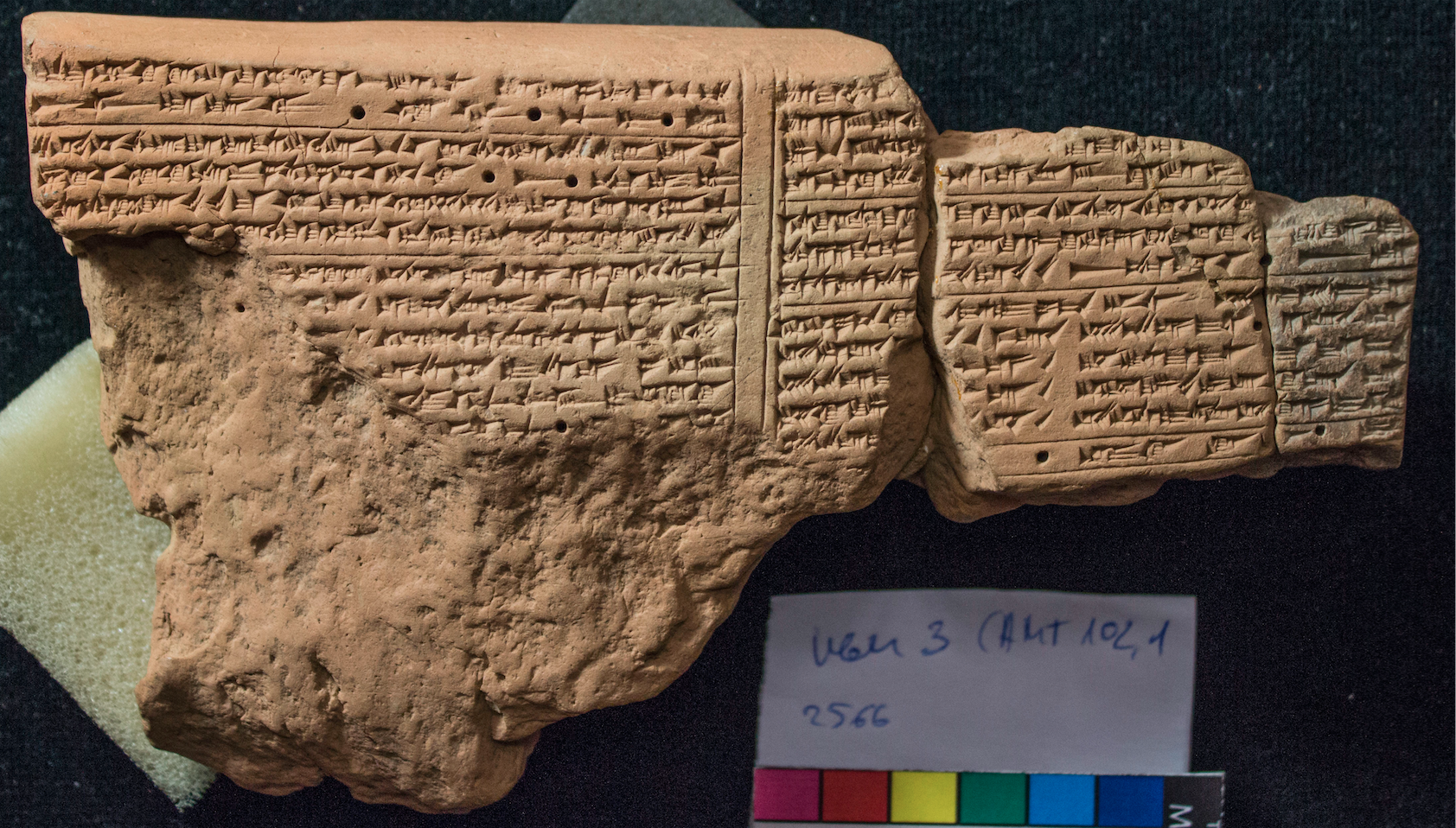 Fig. 1, K 2566 +, photo courtesy of the author with the permission of the Trustees of the British Museum.