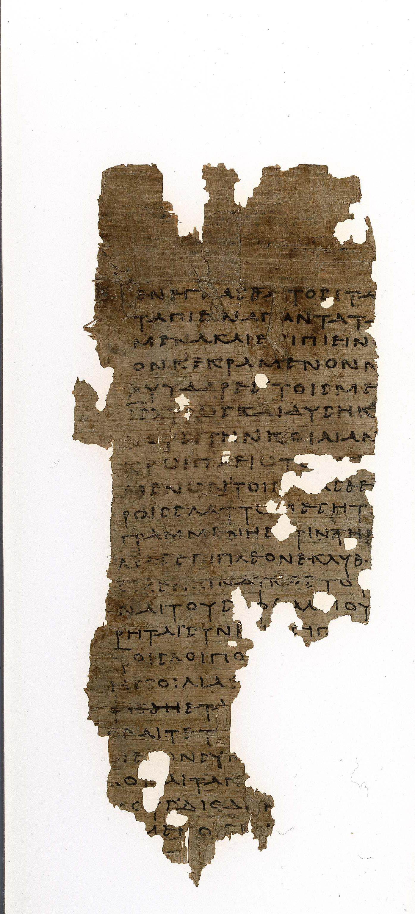 Medical text; Egypt; in Greek; 2nd c. AD; Papyrus; 136 x 60 mm; P. Mich. inv. 1469
