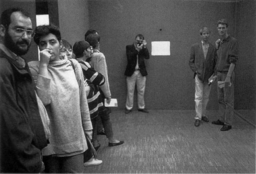 Manifeste : Une histoire parallèle, 1960-1990. Grande Galerie, 23 septembre, 13 décembre 1993. Reportage de Jacques Faujour et de Bertrand Prevost