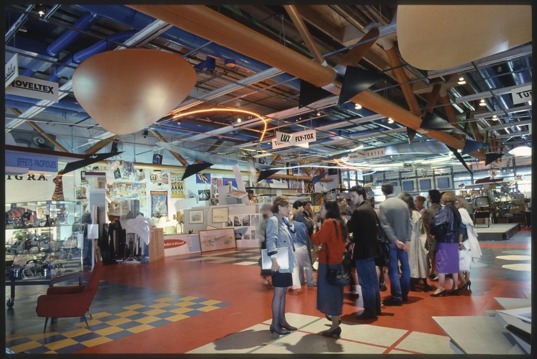 Cci centre de cr ation industrielle histoire des expositions for Le for interieur