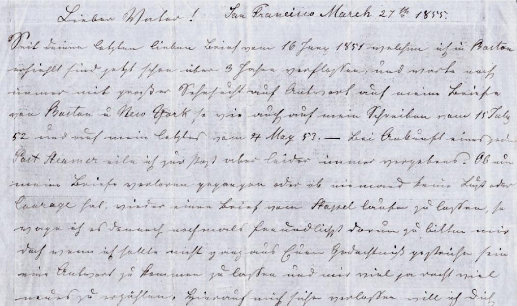Briefe Usa : Analysekategorie historische quelle als medium beispiel