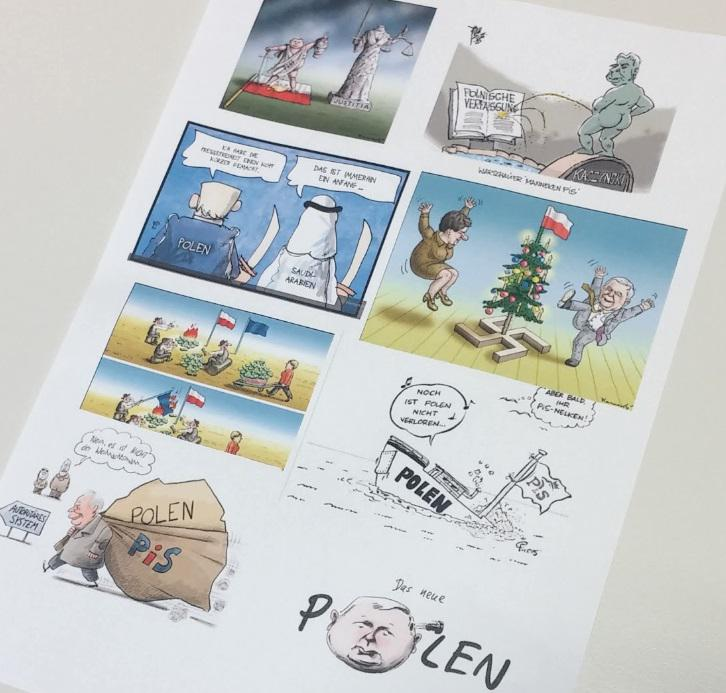 Polen Karikaturen