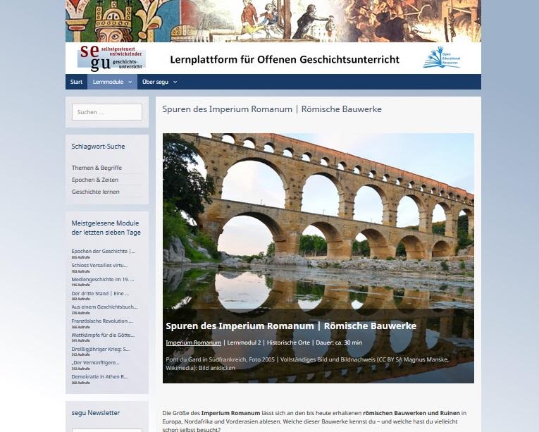 segu römische Bauwerke