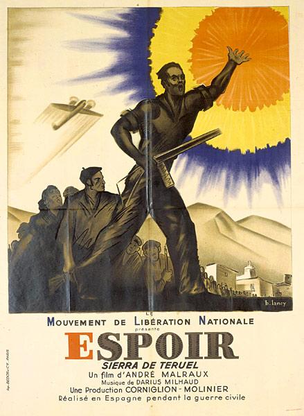 André Malraux, Boris Peskine, Espoir. Sierra de Teruel, film.