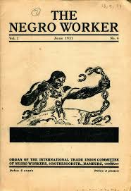 The Negro Worker, vol. 1, n° 6, juin 1931, 5 cents.