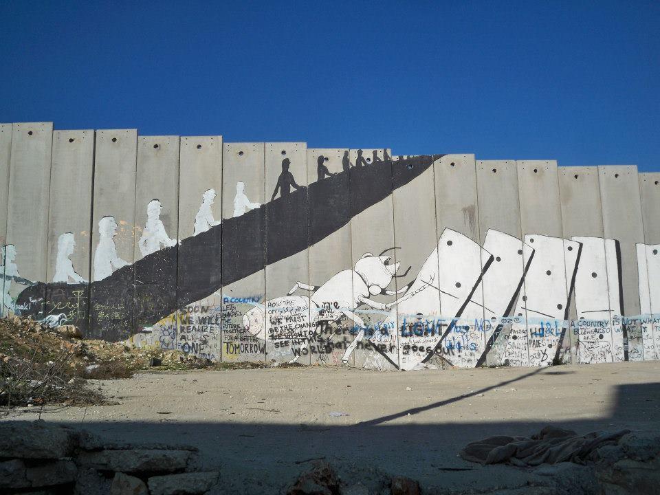 Le Street Art Aux Fronti Res Dans L Espace Isra Lo