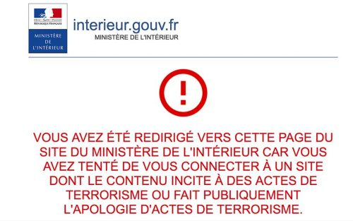site-djihadiste-censure-france