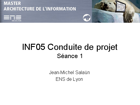 INF05-Conduite de projet